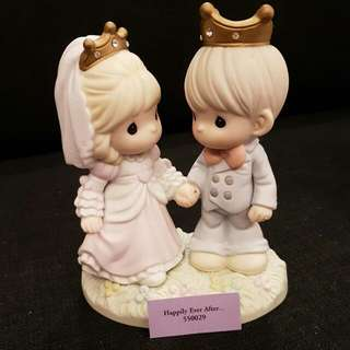 BNIB Precious Moments Happily Ever After