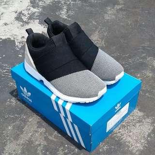 Adidas ZX FLUX Slip on, Black-White (VNDS)