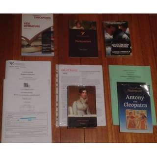 Literature Books (Year 12)