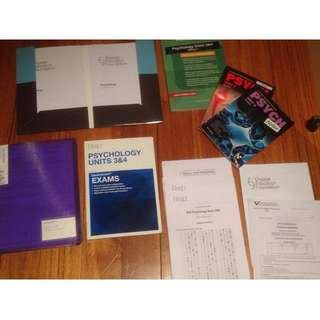 Psychology Textbooks (Year 12)