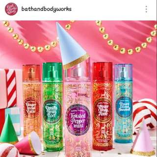 Bath And Body Works Big Lotion And Perfumes