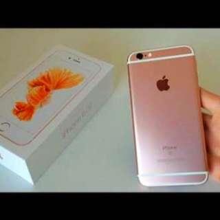 128GB Rose gold iPhone 6s