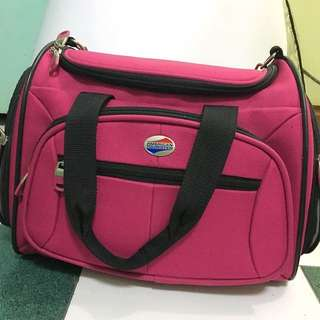 American Tourister in Pink Travel Bag