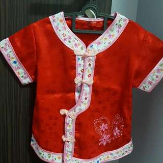Chinese New Year Blouse & Pants