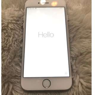 iCloud Locked - iPhone 6 Silver 64GB (no scratch or dent)