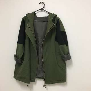 Military Jacket (with Hood)