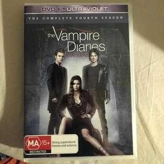 Vampire Diaries Season 4 DVD Set