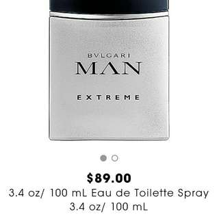 BVLGARI MAN EXTREME Perfume