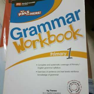 my pals grammer book primary 1