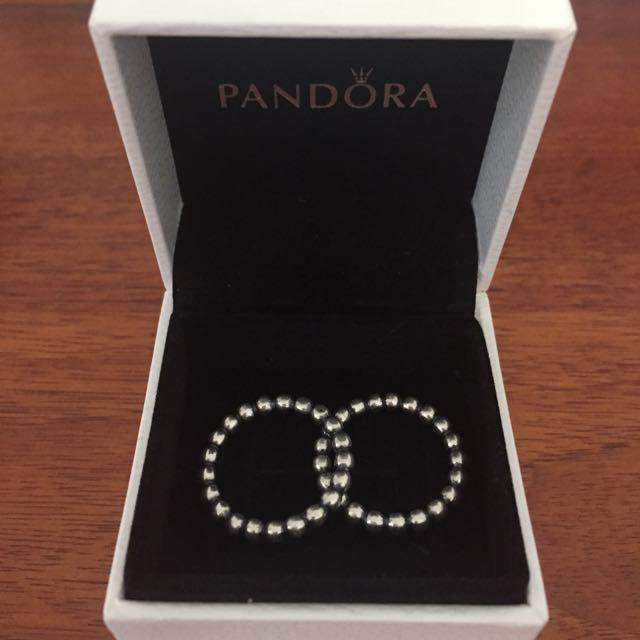 1 X Genuine Pandora Rings Sz52