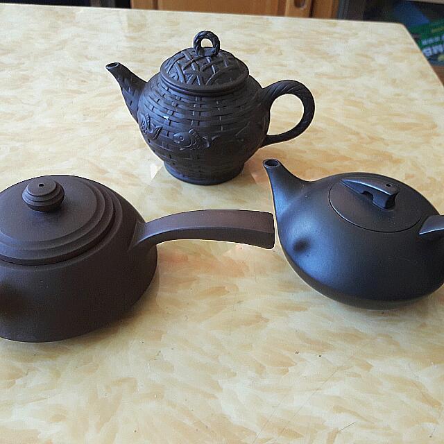 全新茶壺3支