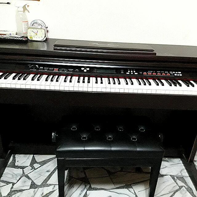 電子鋼琴,少彈