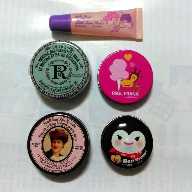 Smith's,Paul Frank,Etude House護唇膏