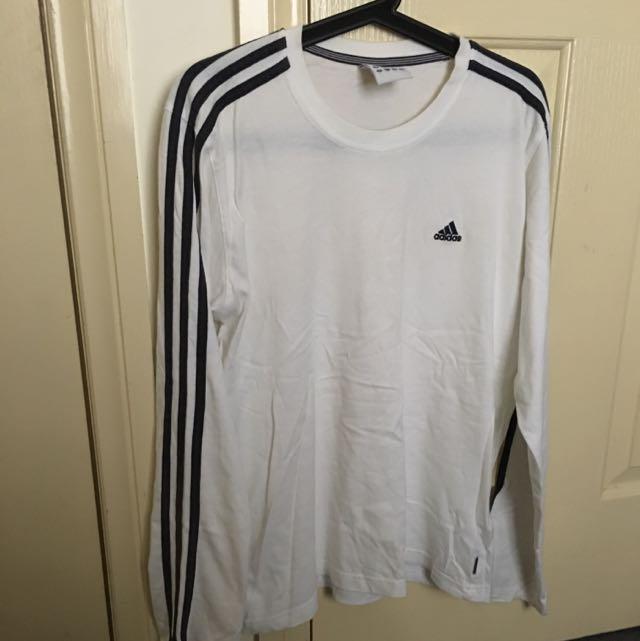 Adidas Long Sleeve Tee (size M)
