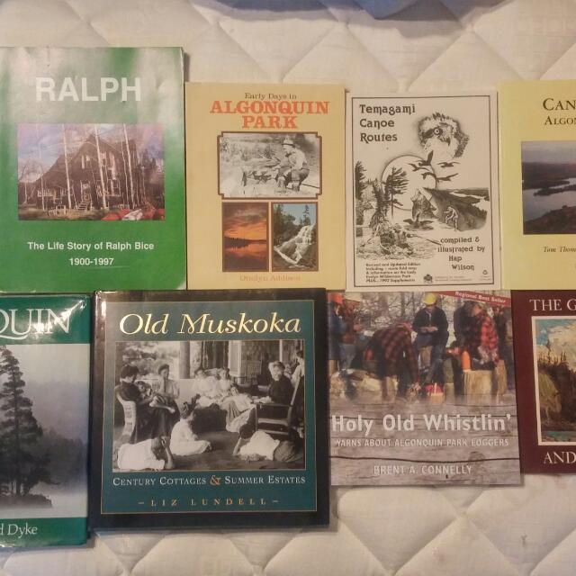 Algonquin Park/Muskoka Book Collection.