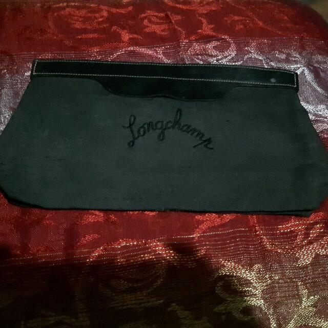 Authentic Longchamp Clutch Bag