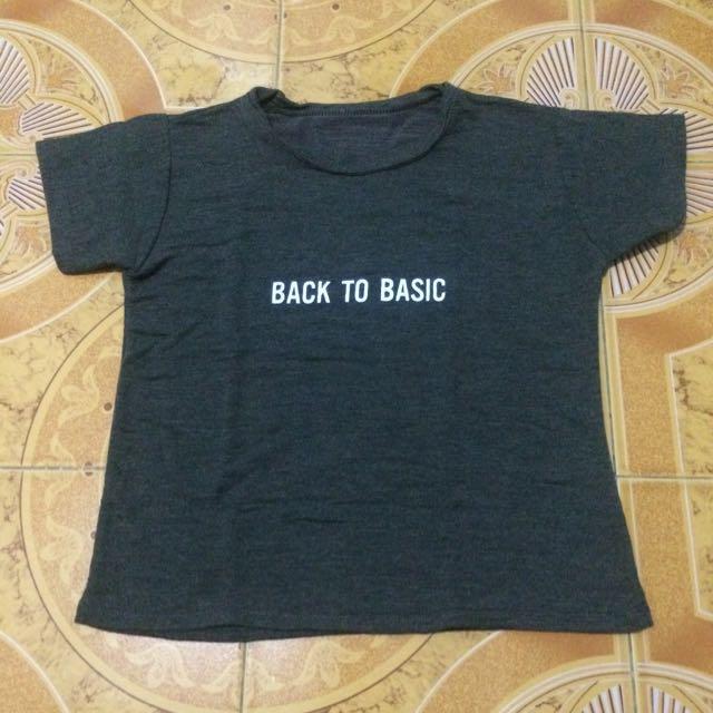 Back To Basic Shirt (new)