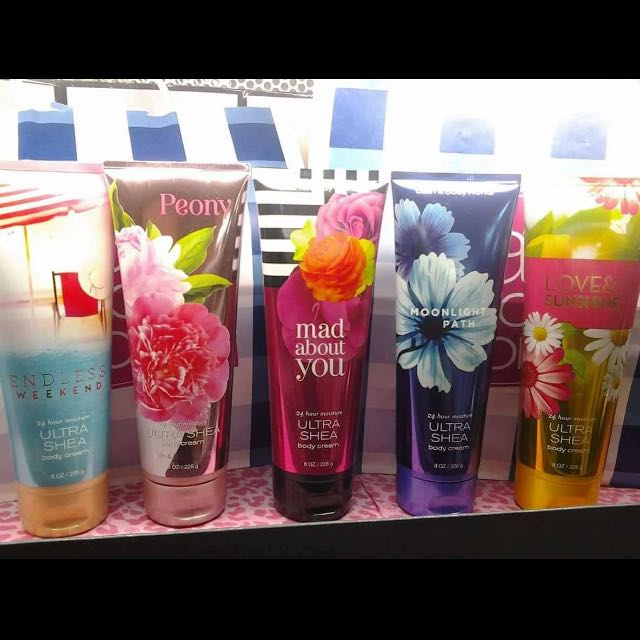 Bath And Body Works Tube Lotion