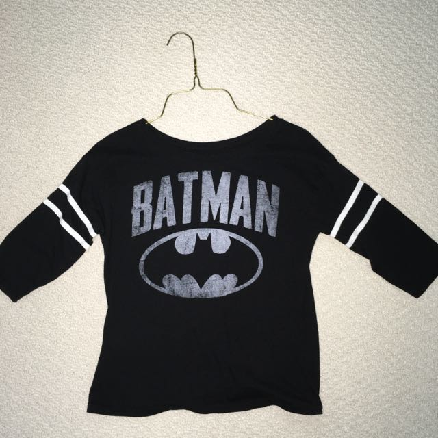 Batman Baseball Tee