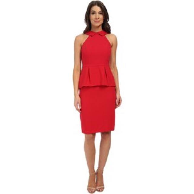 BCBG Tula designer peplum Dress
