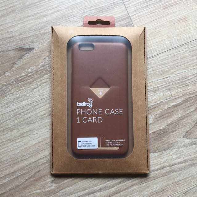 Bellroy Leather Phone case For iPhone 6/6s Plus