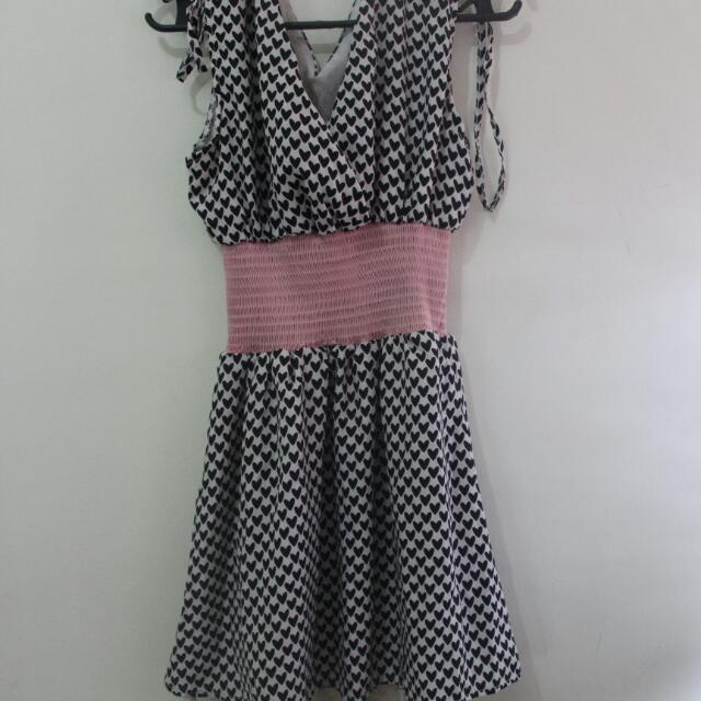 Black Hearts Dress