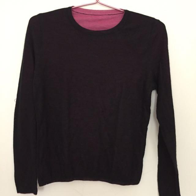 Black Shirt (knit)