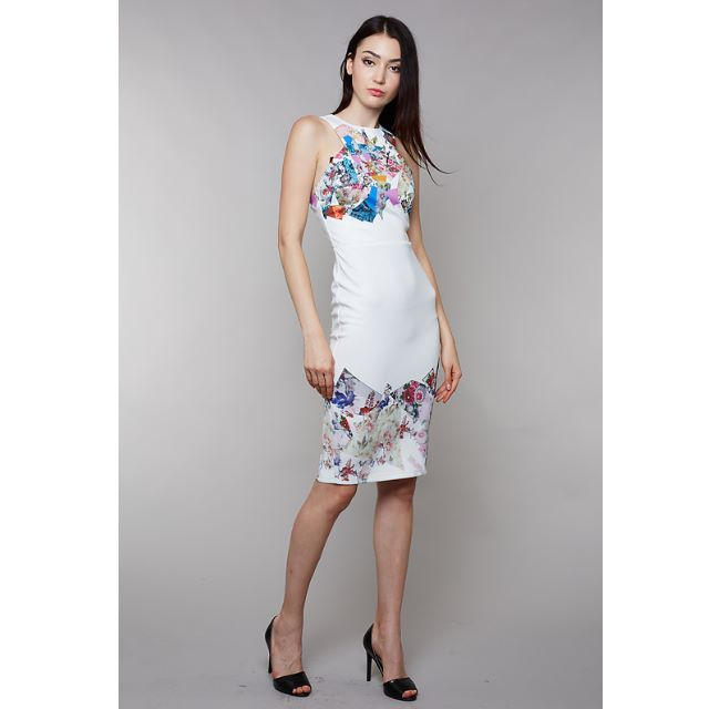 379c4c721d6d BNWT: MDS Rozanna Dress in Print, Women's Fashion, Clothes, Dresses ...