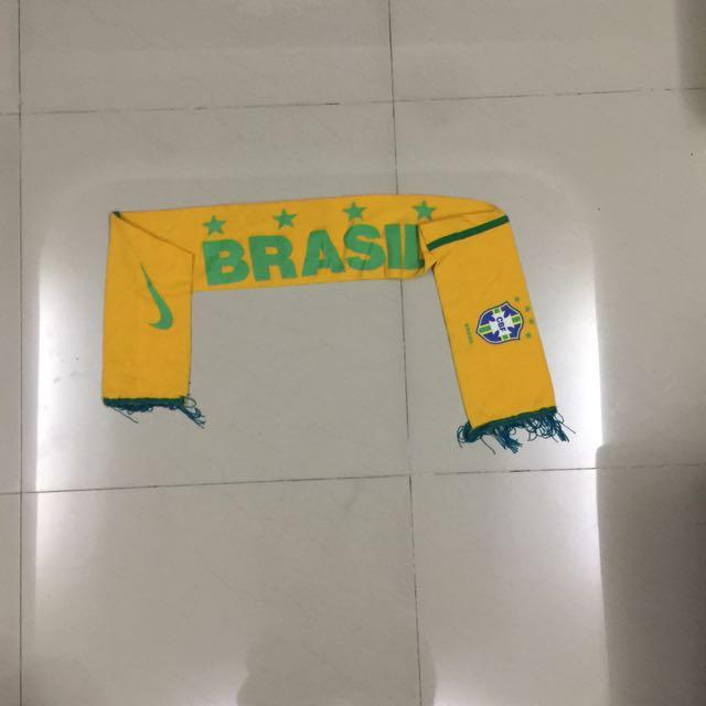 Brazil Soccer Scarf