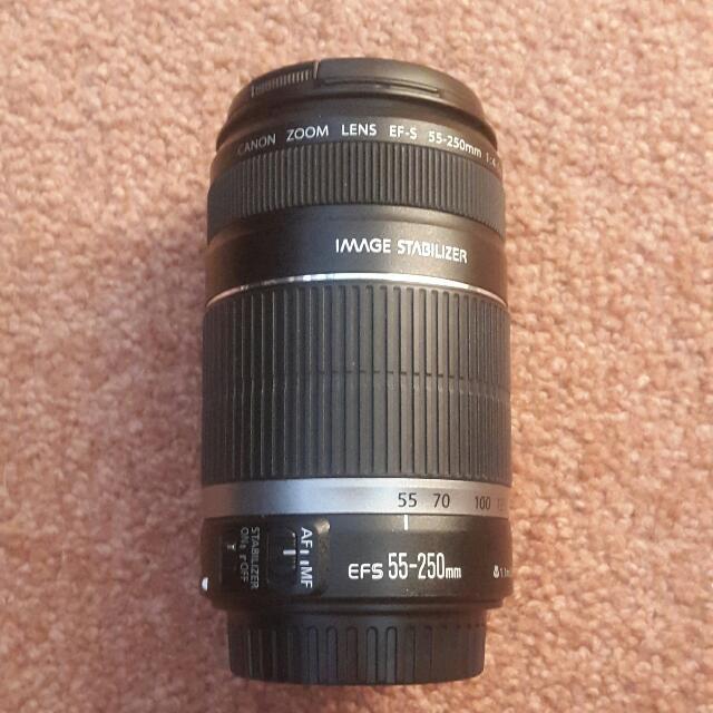 Canon EFS 55-250mm Lens