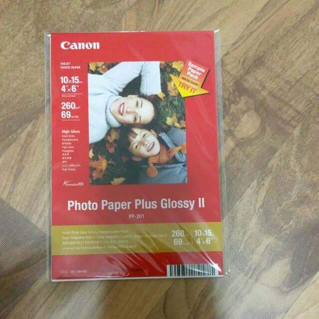 Canon Photo Paper Plus Glossy Ii Printer Books Stationery