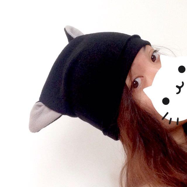 (MTO) Cat Ears bonnet beanie