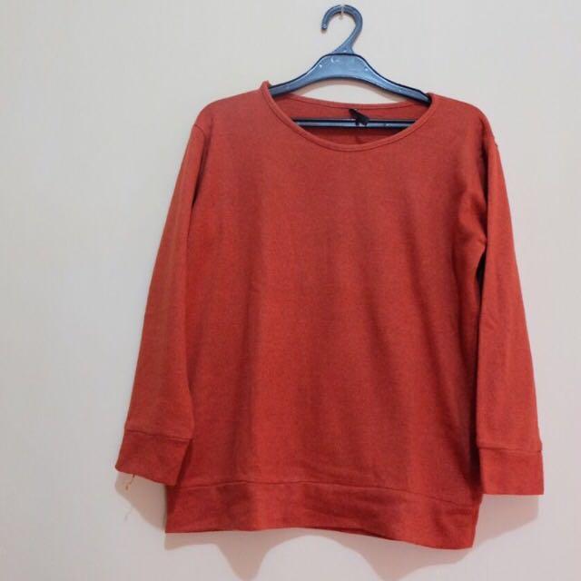 Cool Teen Orange Sweater