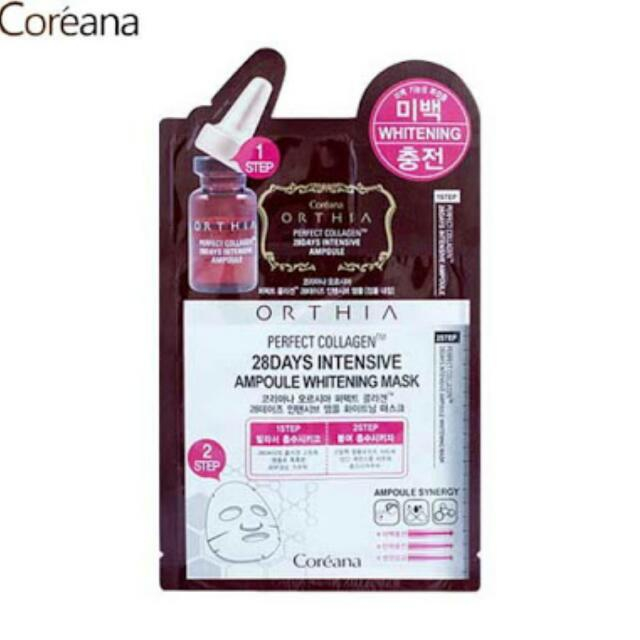 Coreana Intensive Whitening Mask (Repriced)