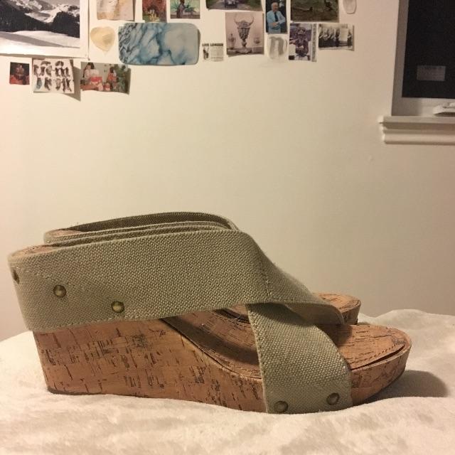 ESPRIT Cork Wedge Heel Sandle