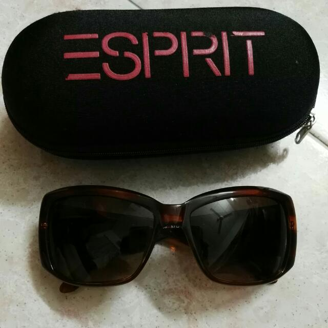 Esprit Dark Brown Sunglasses ec2df26f73