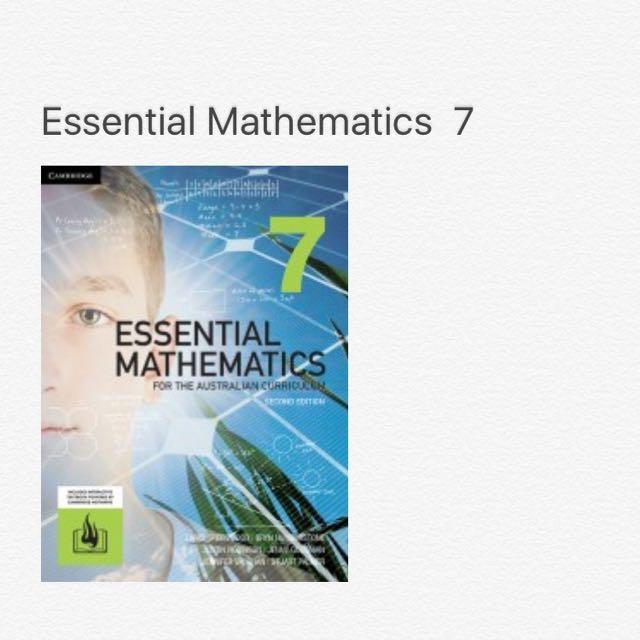 Essential Mathematics 7