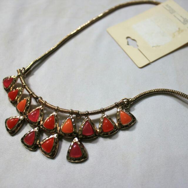 F21 Aztec Necklace