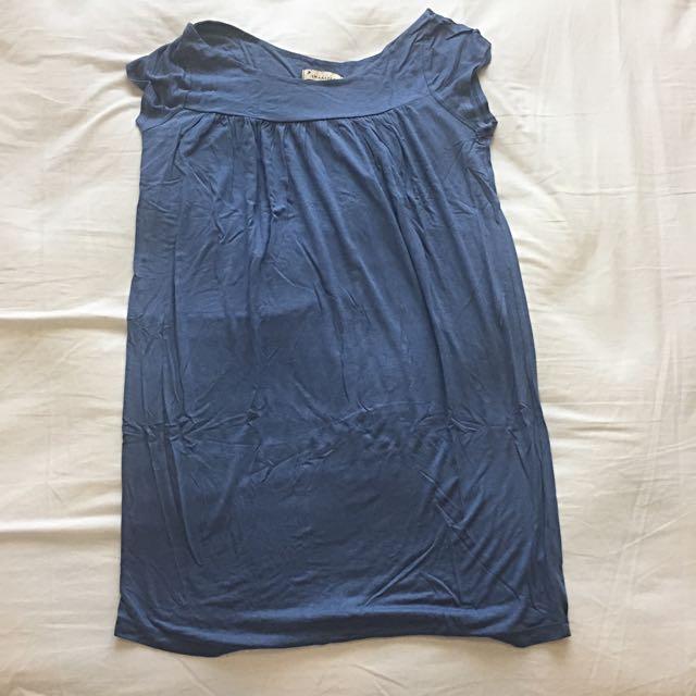 Forever21 Blue Shirt