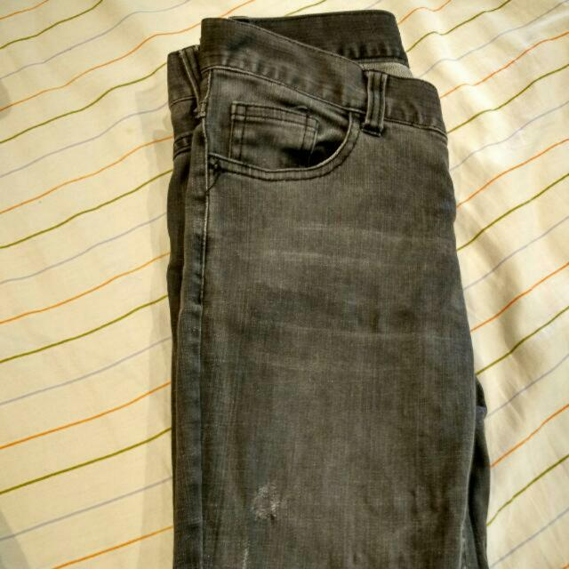 Gray Jeans Size 26