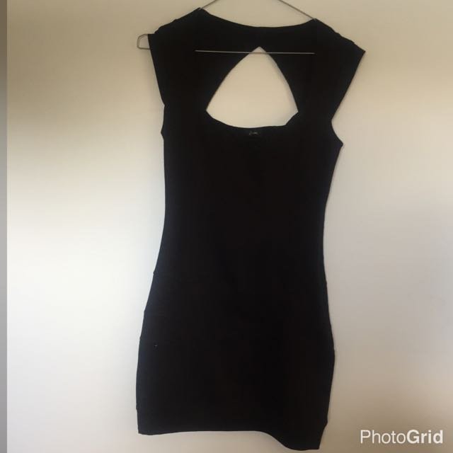 Guess Bodycon Black Dress