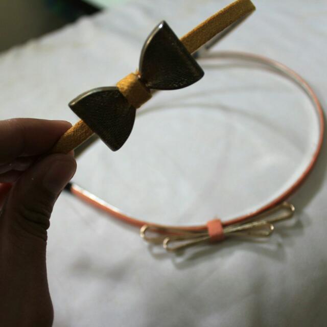 Headbands With Ribbon (2pcs)