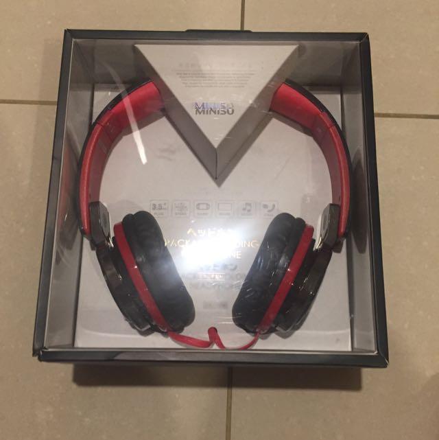Headphone / Headset Miniso