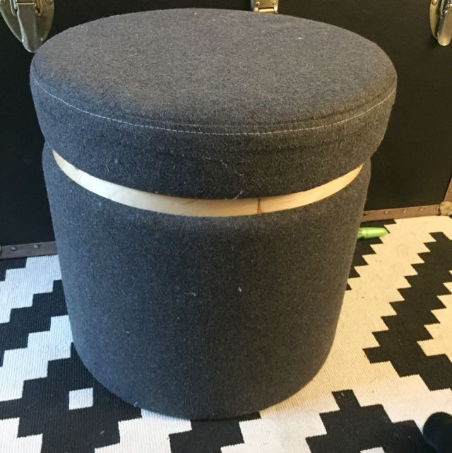 IKEA Foot Stool / Storage Bin