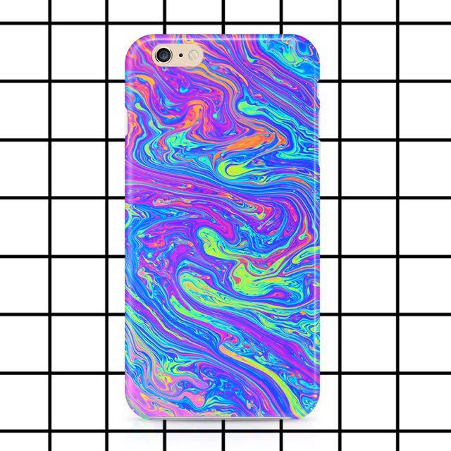 iPhone 5S Molten Rainbow Case