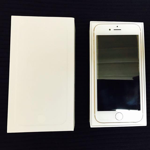 [小謝叔叔]極新iPhone 6  64g無 7,M10,htc.xz.小米.)前玻璃且整機包膜(女用機)