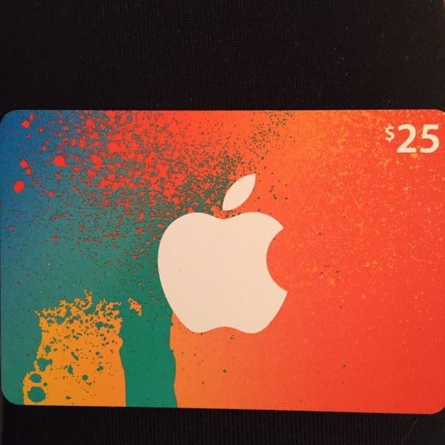 iTunes Giftcard For $25