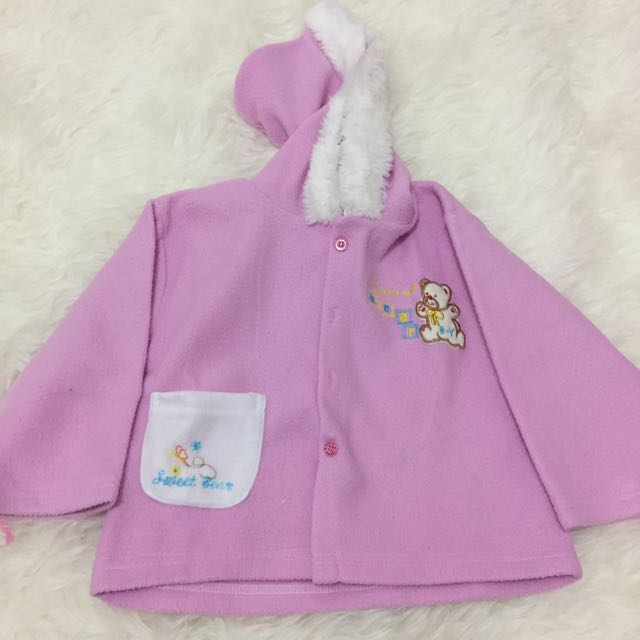 Jaket Bulu Baby