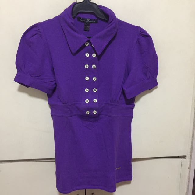 Kamiseta Violet Collared Shirt (L)