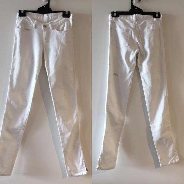 Ksubi White Jeans - Size 6